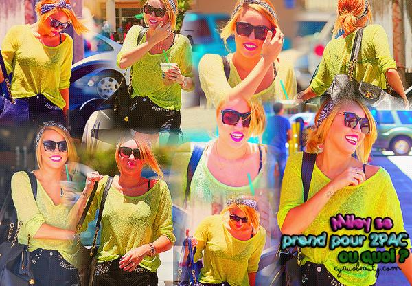 Miley se transforme en autre personnalité