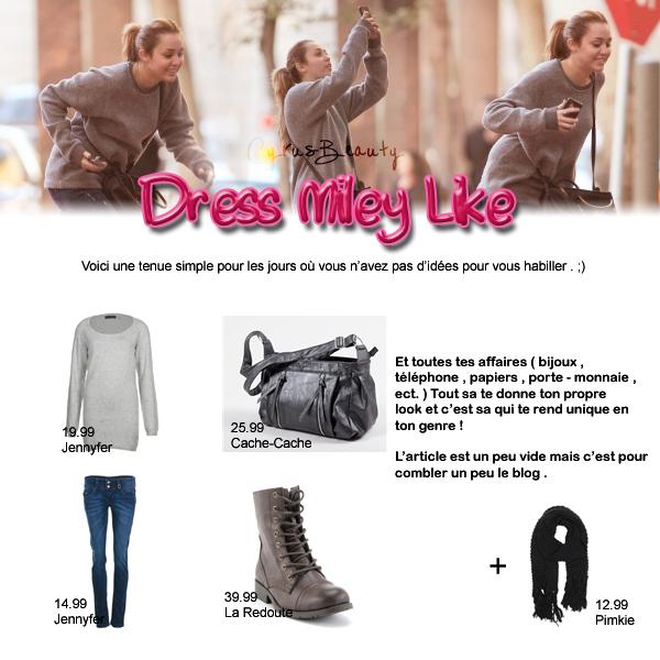 Dress Miley Like