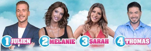 Nominations : Julien / Mélanie / Sarah / Thomas (Semaine 11) #SS10