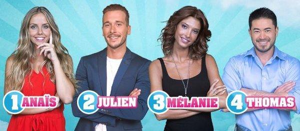 Finale : Anaïs / Julien / Mélanie / Thomas (Semaine 12) #SS10