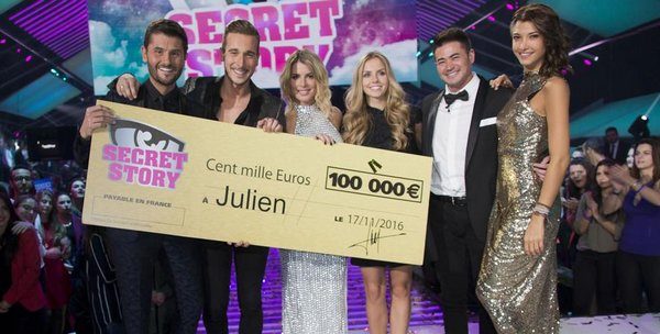 JULIEN REMPORTE SECRET STORY 10 ! #SS10