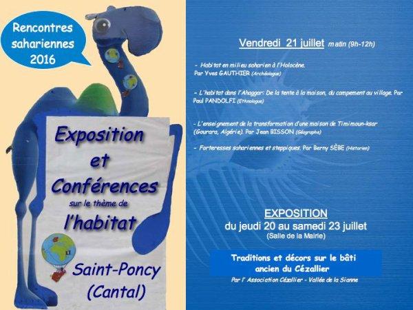 Conférences sur le thème de l'habitat