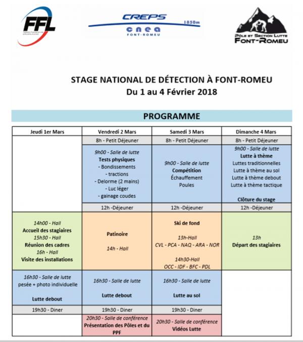 Stage Font-Romeu