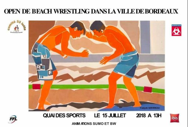 Beach Wrestling 2018, Quai des Sports