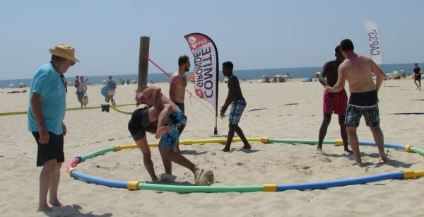 Beach Wrestling 2018