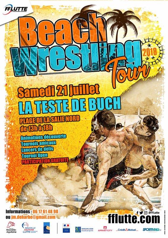 Beach Wrestling Tour 2018