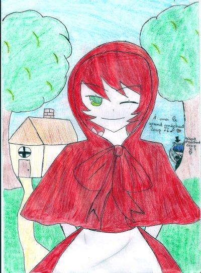 kay en petit chaperon rouge
