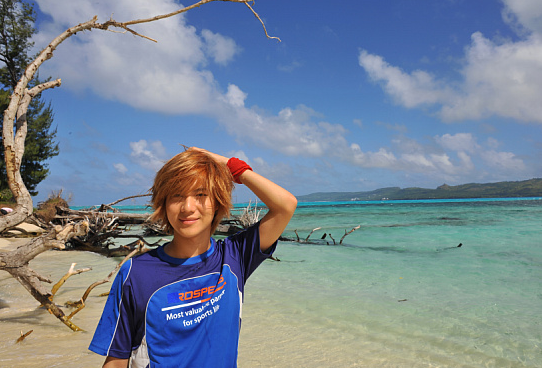 Fanfic: Imagine with TaeMin; A la plage.