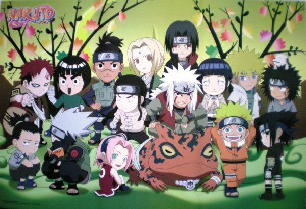 Fiction Naruto ( Partie 1 )