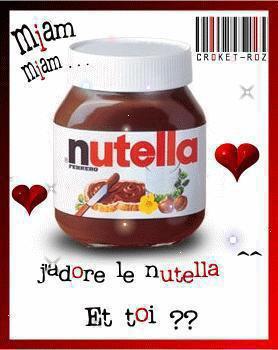 comment aimez-vous le NUTELLA ? :)
