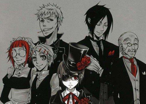 > Black butler