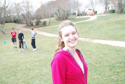Natalie et son beau sourire !