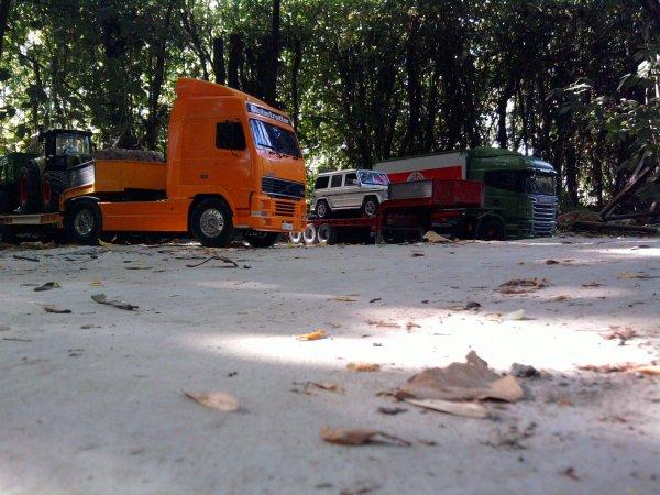 Camion au club
