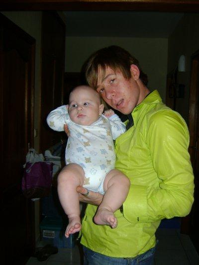 mon fils d'amour et son parrain