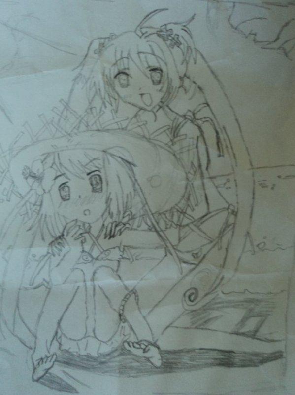 2eme dessin de mangashoo