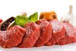 La viande.
