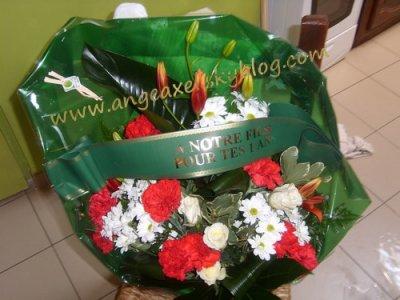 La Gerbe De Fleurs Pour L Anniversaire De Mon Loup D Amour