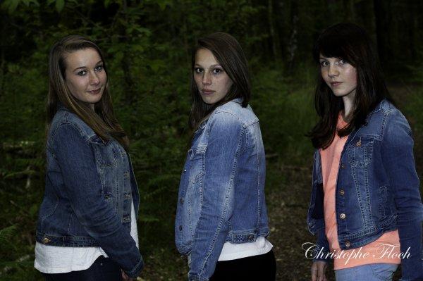 Erell, Laurianne et moi♥