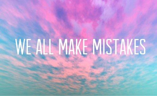 «Ne juge pas les gens par les erreurs qu'ils ont commises, mais par ce qu'ils ont appris de celles-ci»