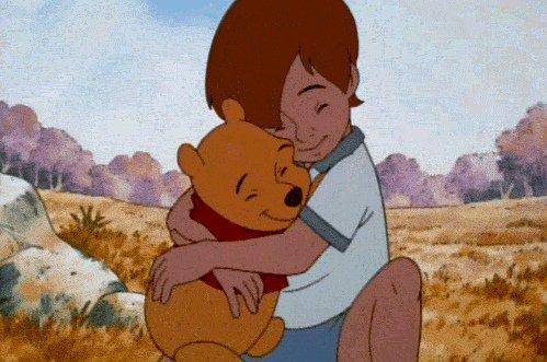 """""""Si jamais un jour nous ne pouvons plus être ensemble, garde-moi dans ton coeur et j'y resterai pour toujours""""_Winnie l'Ourson"""