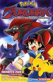 Manga Pokémon Zoroark Le Maître Des Illusions