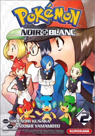 Manga Pokémon Noir et Blanc (Tome 2)