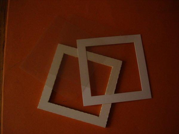Boîte décor carrée