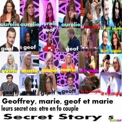 Geoffrey, aurelie, geof et marie