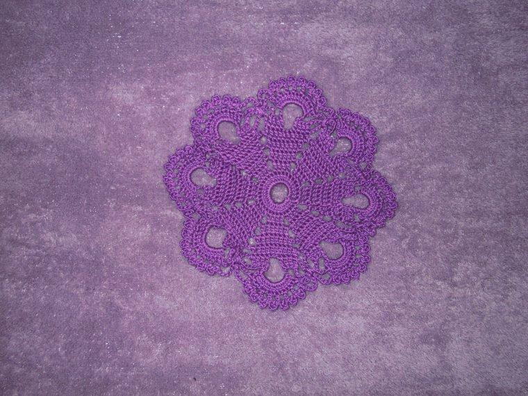 petit violet de 12 cms