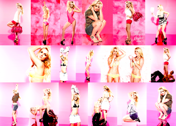 Shoot de Britney datant de 2009 pour Candie's For Kohls..