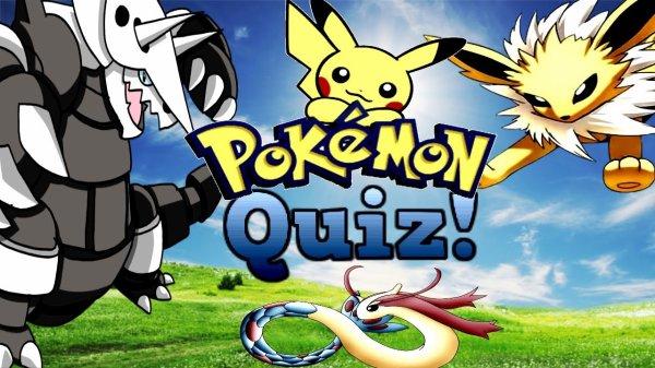 Jeux - Poké Quizz 1