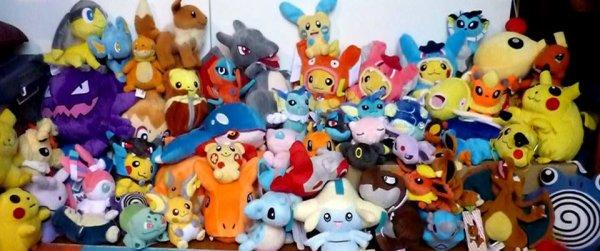 ✯ Peluches Pokémon ✯