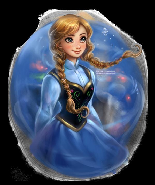 Seconds Personnages : Elsa La reine des Neiges et Anna.