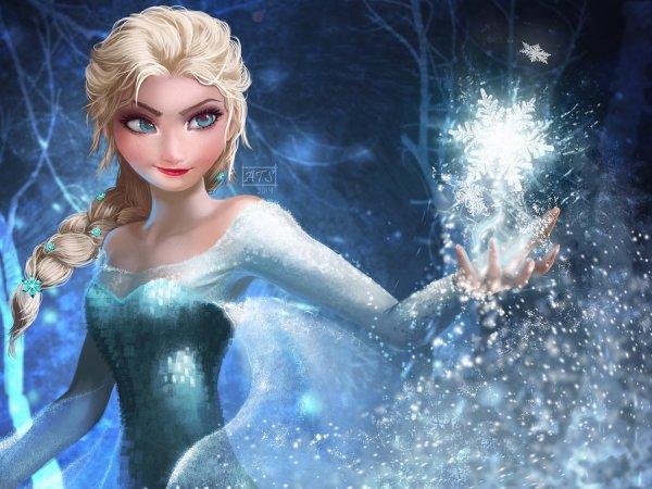 seconds personnages elsa la reine des neiges et anna