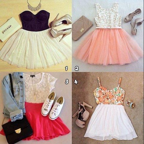 Lequel est ta préférée 1,2,3, ou 4?! ;)