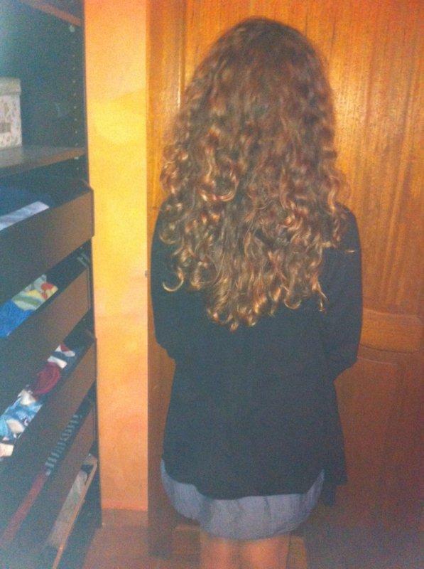 Voilà ça c'est moi! Enfin mes cheveux :P 1000% natural,oui ?