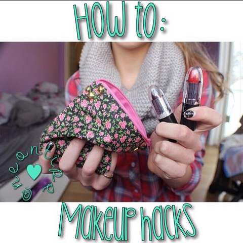 How to: hacks de maquillage!