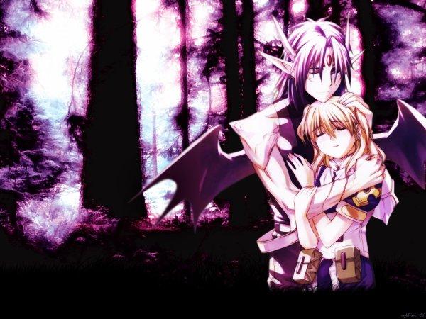 A nos deux coeur qui nous unis^^