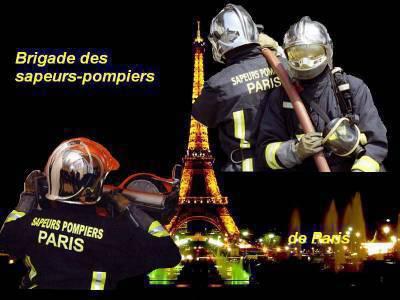 fond d'écran des pompiers de paris - le plus beau metier au monde