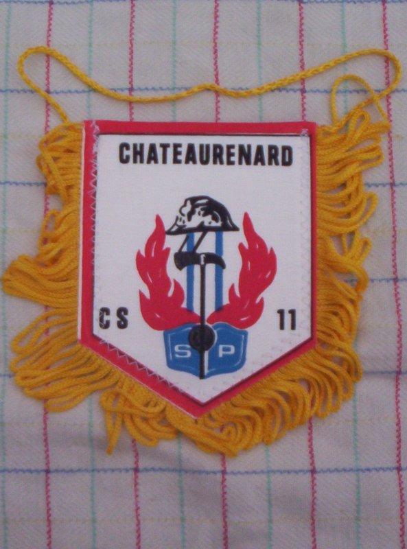 Fanion des Sapeurs pompiers de Chateaurenard 45, neuf  A VENDRE OU A ECHANGER