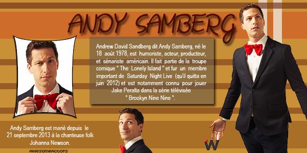 Acteur : Andy Samberg