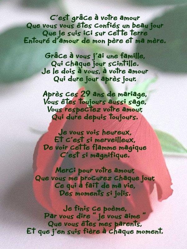 Un Poeme Pour Mes Parents Ils Me Manquent Et J Aimerai Tant