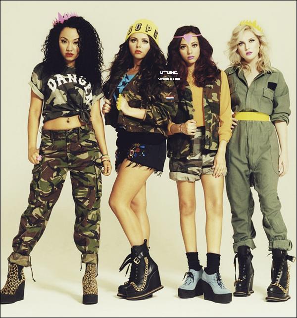 Un nouveau photoshoot de Leigh-Anne, Jade, Jesy & Perrie pour I-D Magazine est sorti.