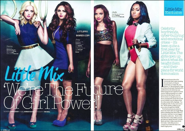 magasine LOOK (little mix )