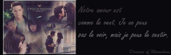 L'amour est comme le vent, On ne peut le voir, Mais on peut le sentir...