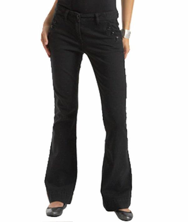 Pantalon noir finement rayé Etam 36/38 acheté 44.95 (étiquette encore dessus)