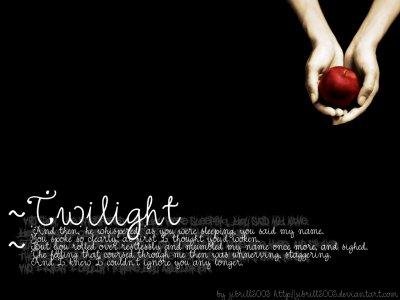 "Twilight <3 ""les citations que J'aime"""