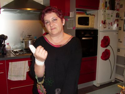 LE  31  DECEMBRE  2011... L'ACCIDENT  DE  MAMAN...
