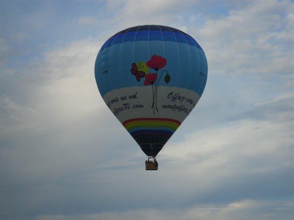 VOYAGE  EN  MONGOLFIERE ... Samedi  7  juillet  2012   -  18 heures   -