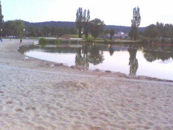 PETITE  PROMENADE  EN  SOIREE... AU  LAC  DE  VAIVRE... Mardi 17 juillet 2012